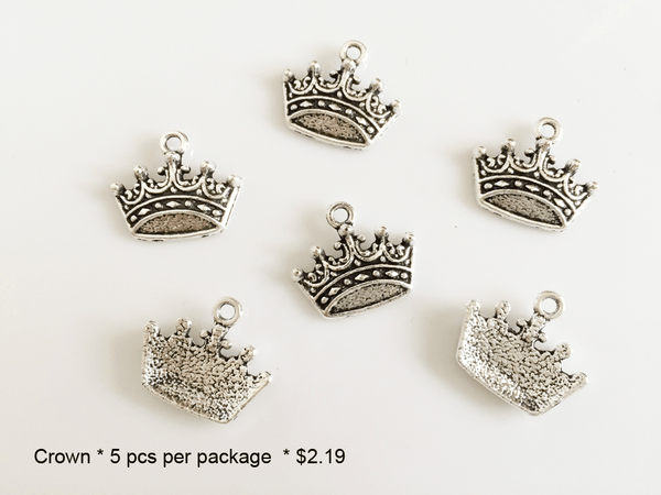 Crown Charms - CraftChameleon