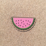 Watermelon Shaped Acrylic - CraftChameleon  - 1