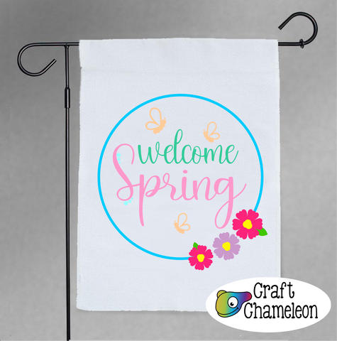 Welcome Spring Digital Design