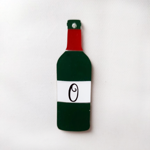 Wine Bottle Acrylic Blank Shape