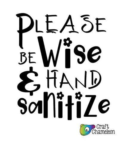 Be Kind Hand Sanitize Design Only