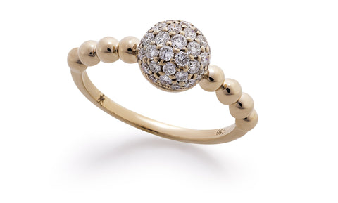 Diamond Bonbon Ring