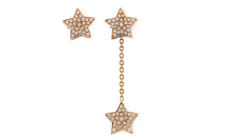 Wish Upon a Star Drop Earrings