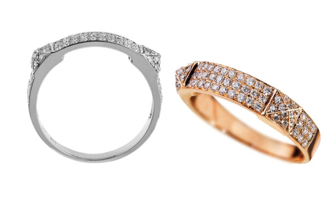Diamond Stud Ring