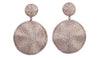 Diamond Cymbal Earrings