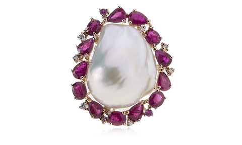 Crown Baroque Ring