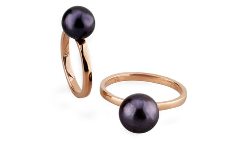Galactic Double Pearl Ring
