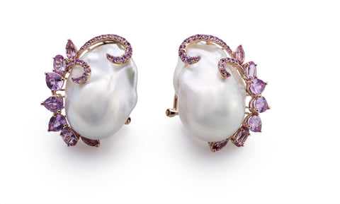 Baroque Embrace Studs