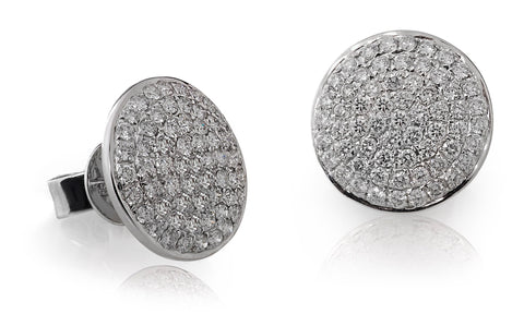 Mini Diamond Disc Studs