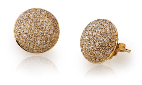 Mini Convex Diamond Studs