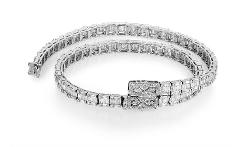 Double Diamond Deco Bracelet