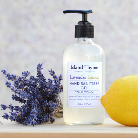 Lavender Lemon <br>65% Alcohol Hand Cleansing Gel