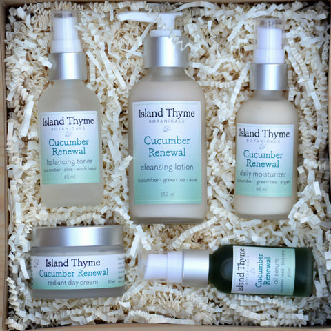 Cucumber Renewal Face Care Complete Set