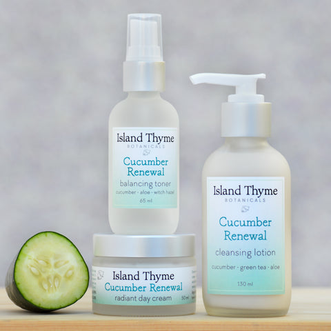 Cucumber Renewal Face Care Trio