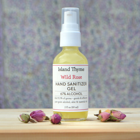 Wild Rose <br>67% Alcohol Hand Sanitizer Gel