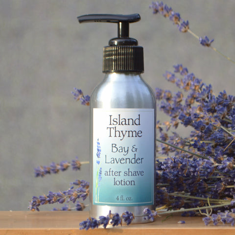 Island Thyme Bay Lavender After Shave Lotion for Men