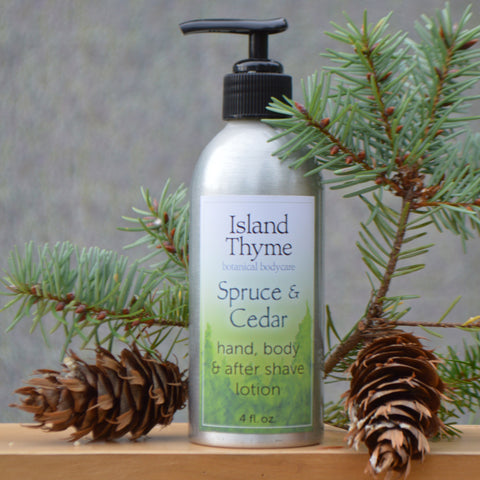 2 oz Spruce & Cedar Lotion