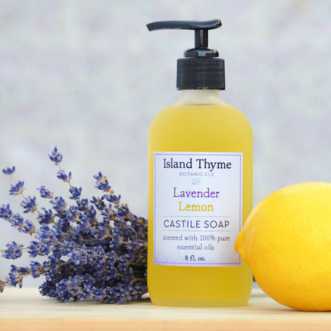Lavender Lemon Castile Soap