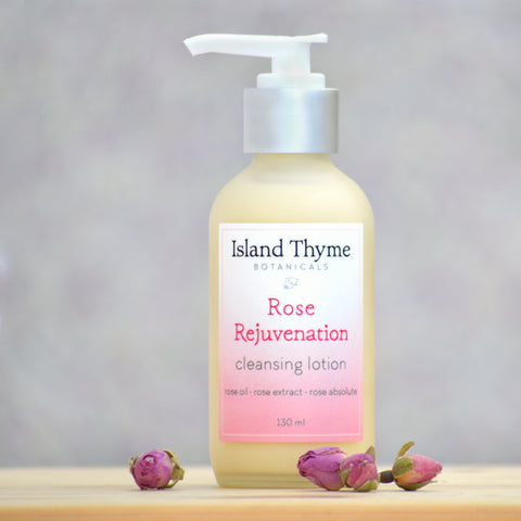 Rose Rejuvenation Cleansing Lotion