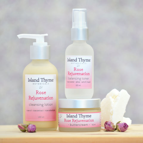 Rose Rejuvenation Trio Set