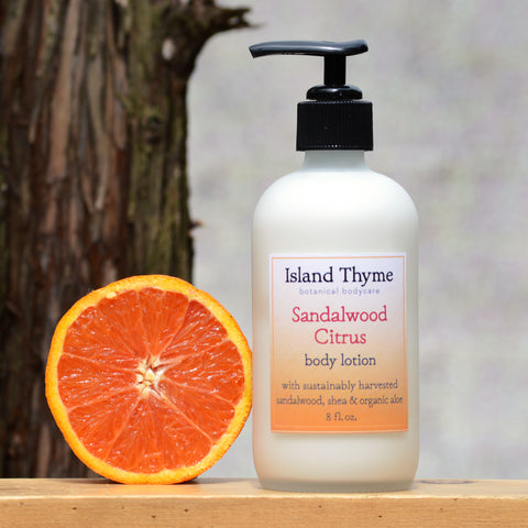 Sandalwood Citrus Lotion