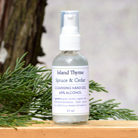 Spruce & Cedar <br>65% Alcohol Hand Cleansing Gel