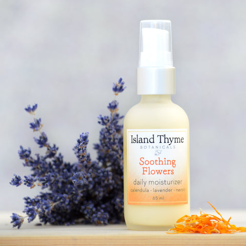 Soothing Flowers Daily Moisturizer (neroli lavender)