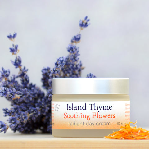 Soothing Flowers Radiant Day Cream (neroli lavender)