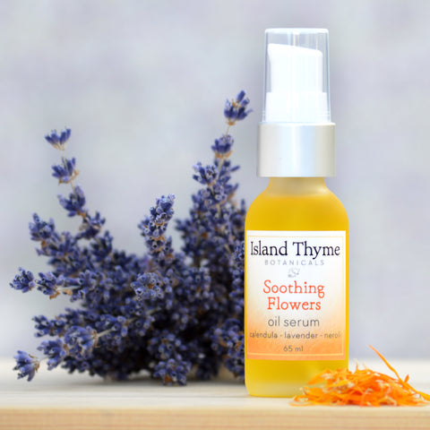 Soothing Flowers Oil Serum (neroli lavender)