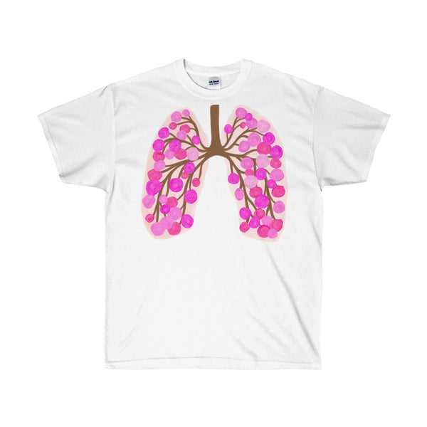 65 Roses Lungs Ultra Cotton Unisex T-Shirt