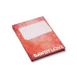 Bawdy Love Book Cover Journal - Blank