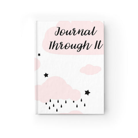 Journal Through It Pink Cloud Journal - Ruled Line