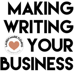 Making Writing Your Business Group Coaching Program