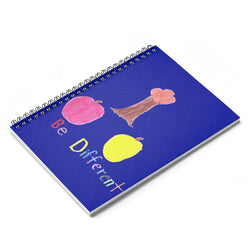 Be Different Spiral Notebook - Ruled Line