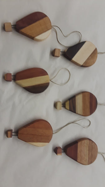 Handmade Wooden Balloon Ornament