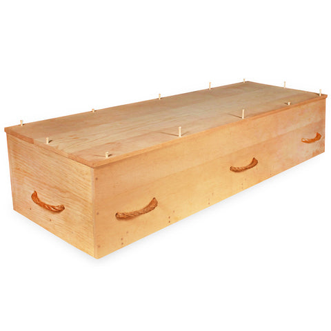 Kosher Casket in Sugar Pine