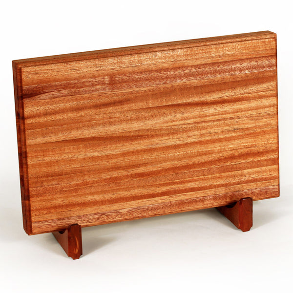 Small Cutting Board in African Mahogany