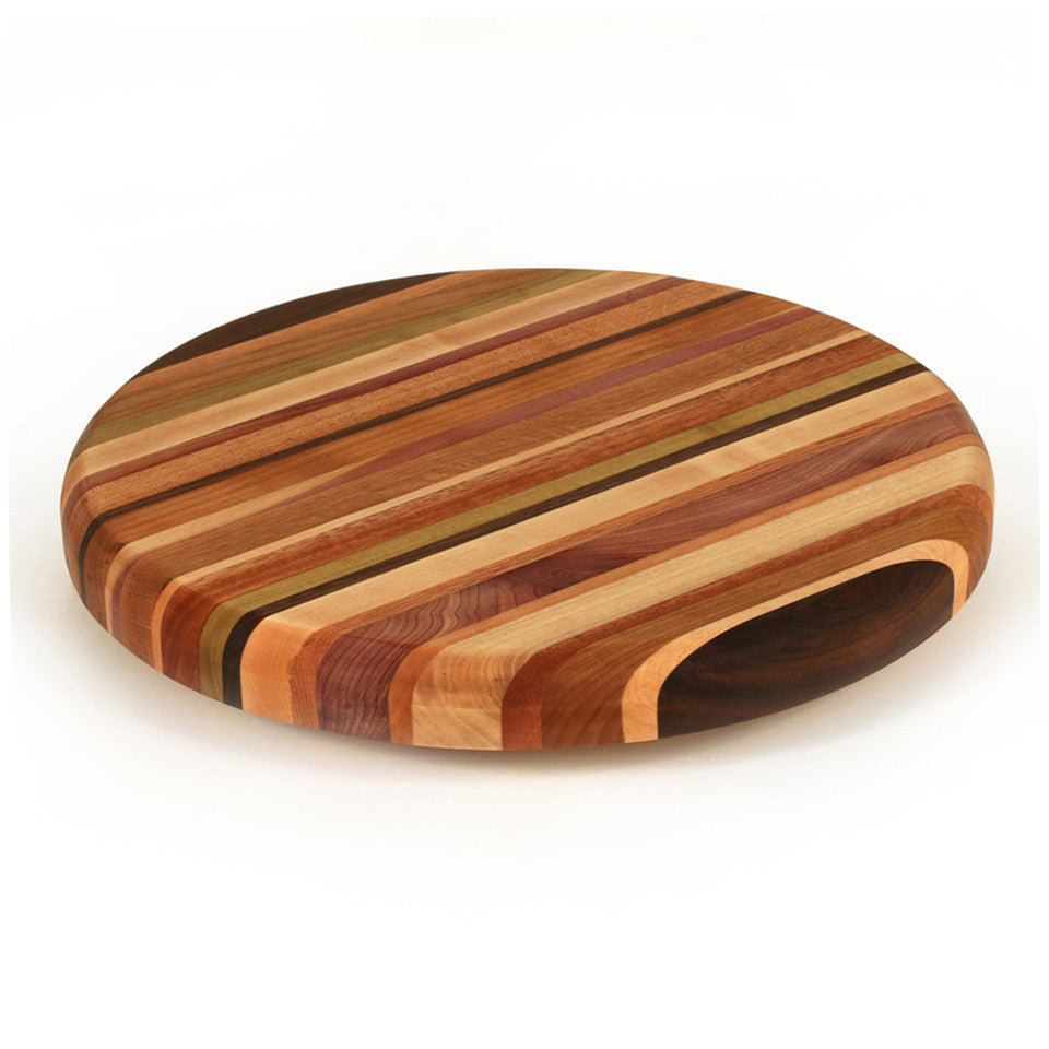 Small Lazy Susan in Multiple Woods