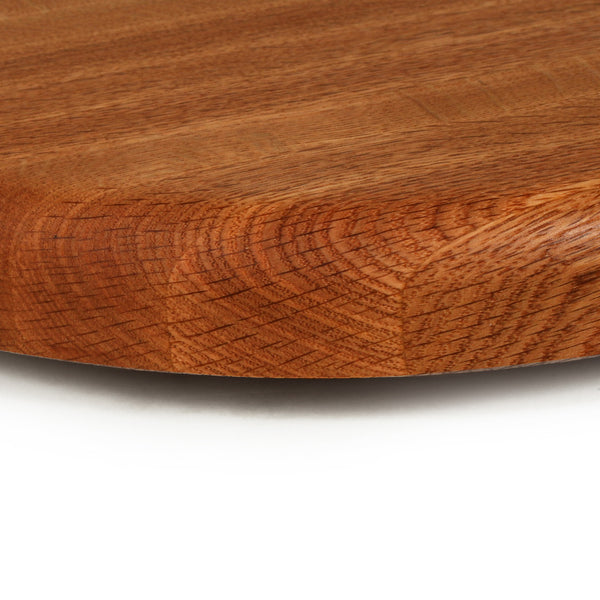 Small Lazy Susan in Red Oak