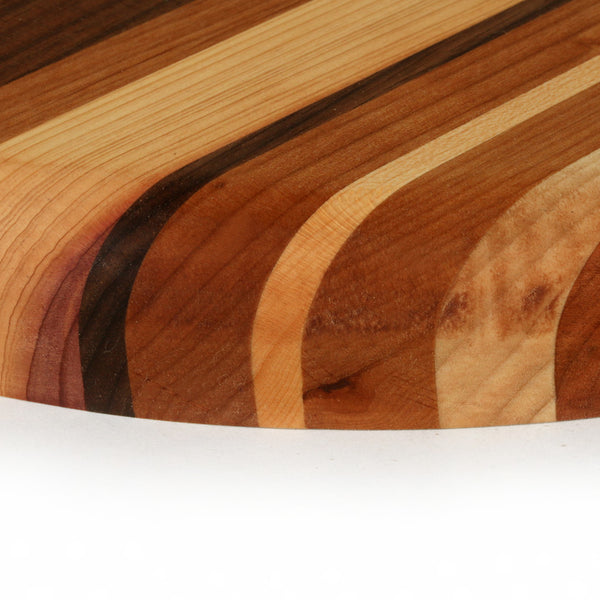 Small Round Cutting Board in Multiple Woods