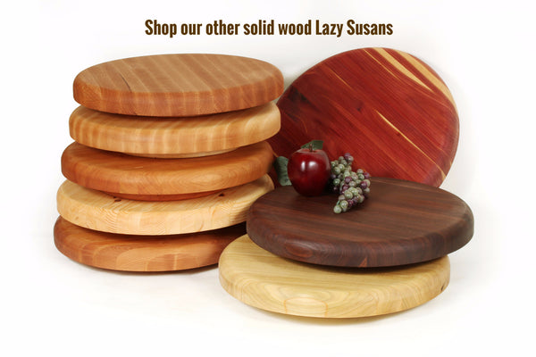 Small Lazy Susan in Walnut