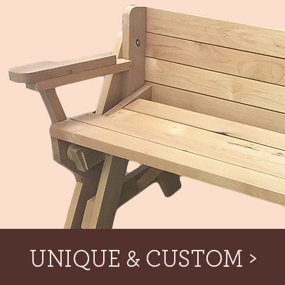 Inquire about unique and custom woodcraft and woodworking items