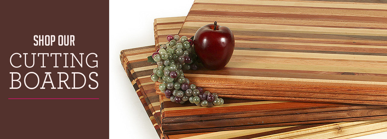 Shop our unique, custom, handmade cutting boards made by the fathers themselves at our Albuquerque, NM workshop