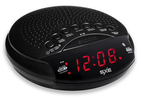 SXE Bluetooth Speaker and Radio Alarm Clock - SXE Electronics - 1