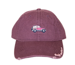 Simply Southern 4X4 Jeep Burgundy Hat
