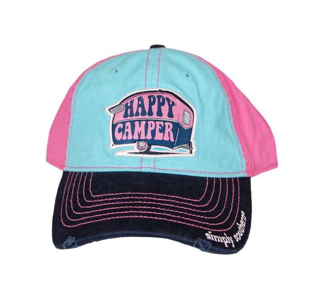 Simply Southern Happy Camper Hat