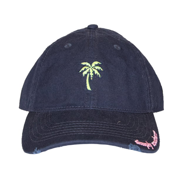 Simply Southern Palm Dark Denim Hat