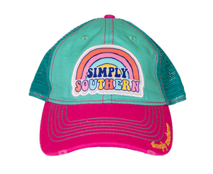 Simply Southern Rainbow Mint Hat