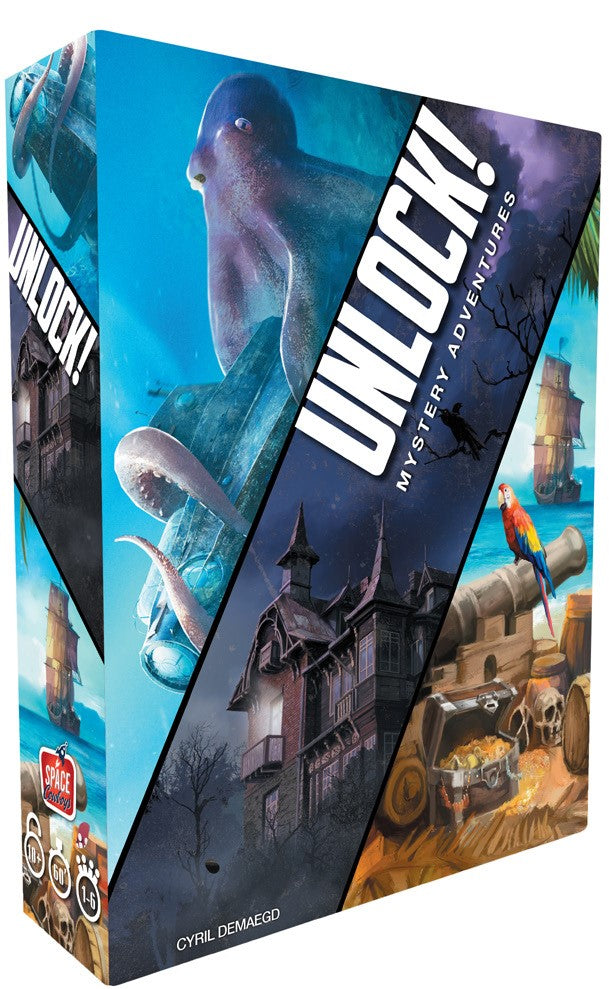 Unlock! Mystery Adventures Three-Scenario Box
