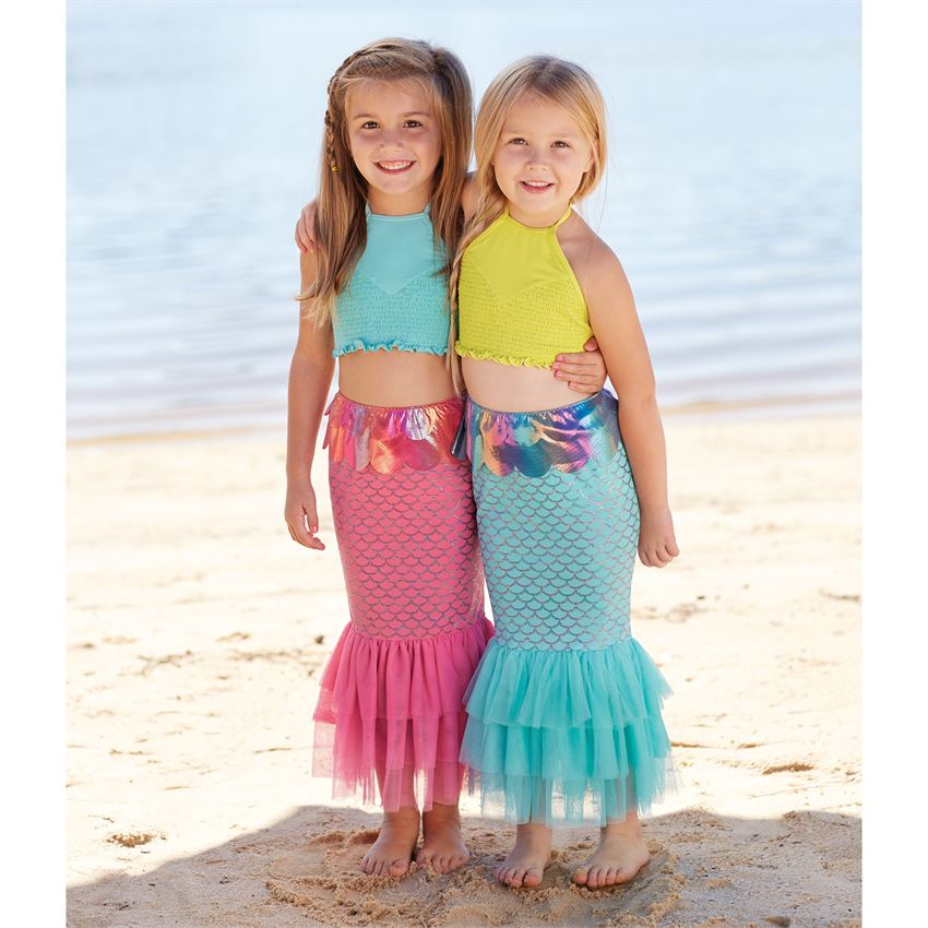Mermaid Tail Swim Skirts (2 Colors)
